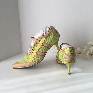 Diesel's women's sneaker pumps. SZ 10